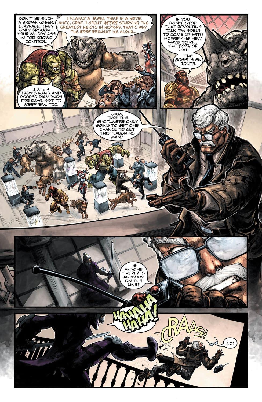 Shredder and Joker Get Infinity Warped in Batman/TMNT 3 #1 Preview