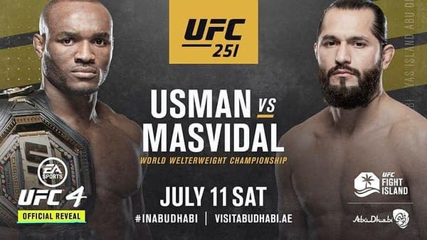 UFC 251 Usman Vs Masvidal (Image: UFC)