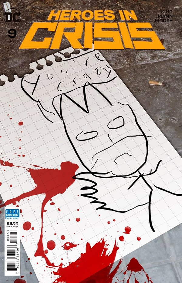 Tom King Reveals Tom King Variant for Heroes in Crisis #9
