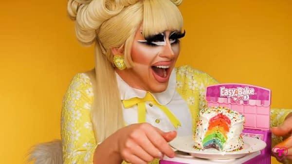 Trixie Mattel's Tiny Gay Cake (No, It's Not A Dirty Joke)