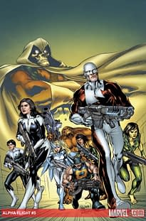 Marvel Tells Canada That Alpha Flight Is To Be A Continuing Series. Guess The Reaction.