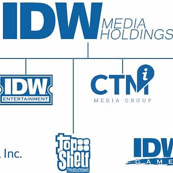 Corporate Structure from IDW Media Holdings Website
