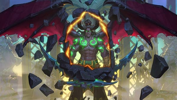 The latest addition to Hearthstone is the Demon Hunter class, courtesy of Blizzard.