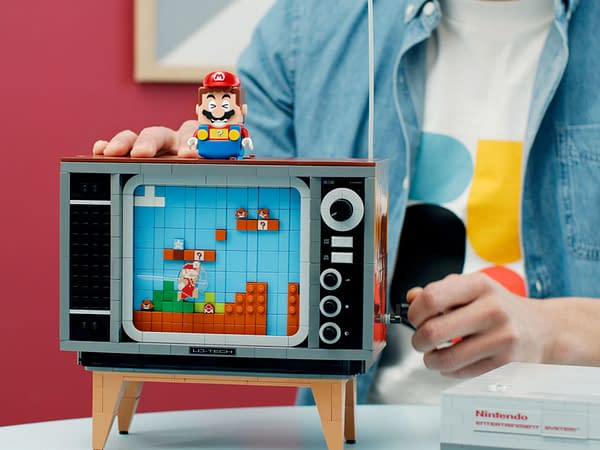 LEGO Announces Buildable NES System That Plays Super Mario Bros!