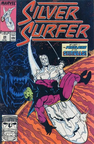 Silver Surfer (Volume 3) #28 Cover