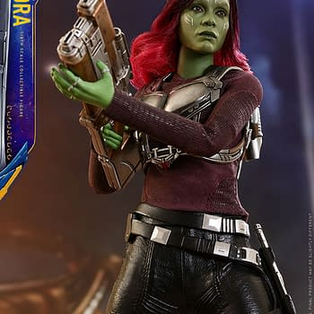 Gamora Gets a Hot Toys Release from Guardians of the Galaxy Vol. 2