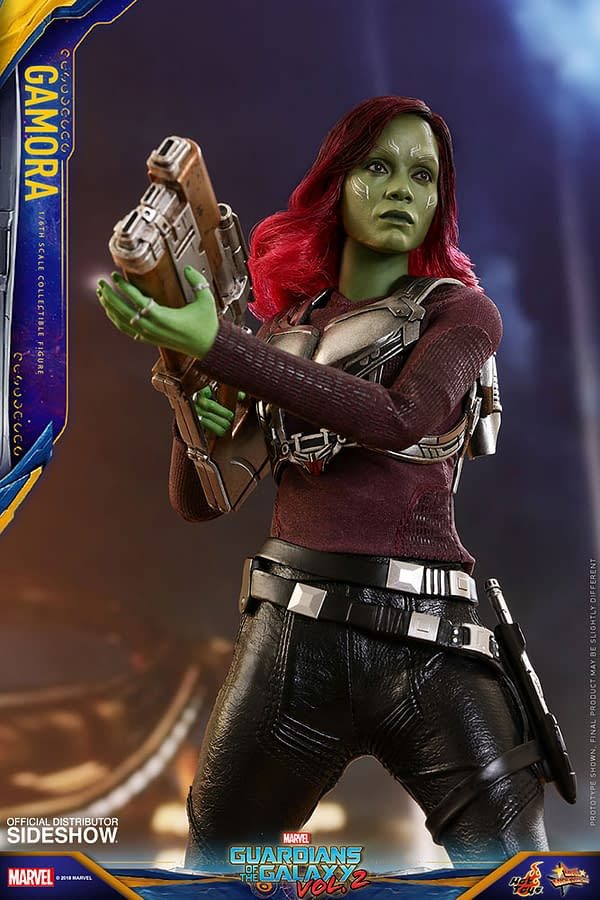 Hot Toys Guardians Vol. 2 Gamora 9