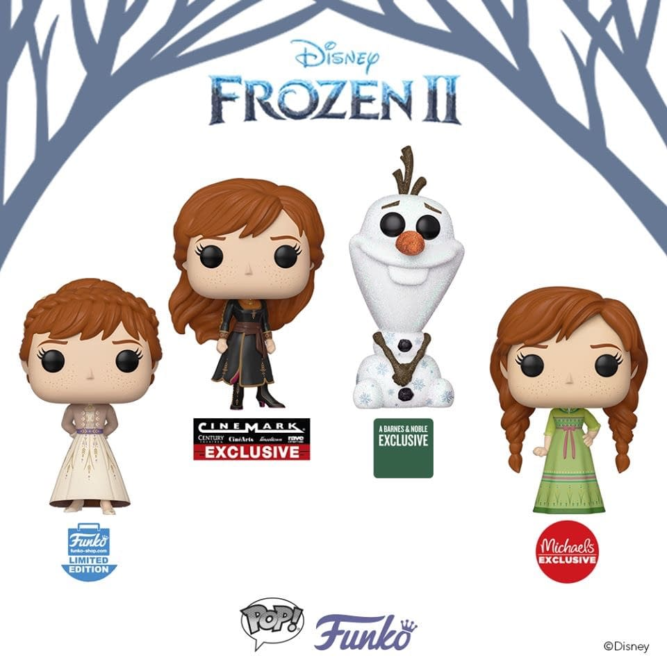 Frozen 2 Brings the Storm with Huge Funko Release