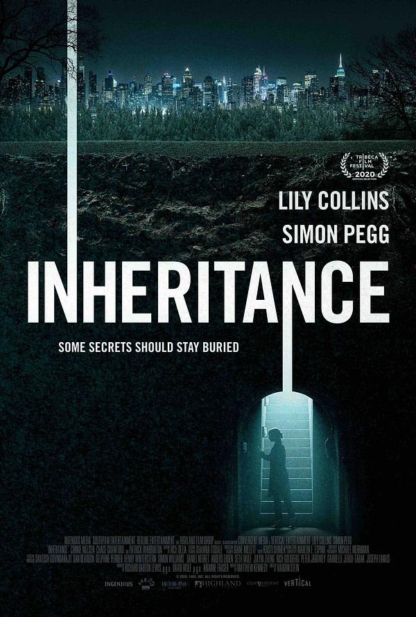 L'affiche du thriller Lily Collins Héritage.