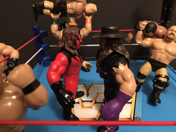 Mattel WWE Retro Ring 9