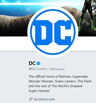 dc comics social media twitter tweets