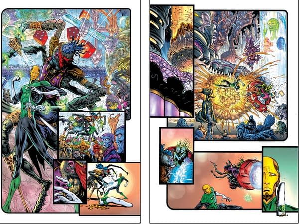 Giving the Finger to Grant Morrison and Liam Sharp's The Green Lantern – He's Already Started Year Two