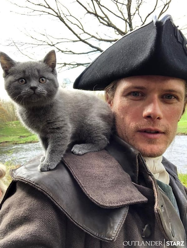 Meet the Newest Addition to the 'Outlander' Season 5 Clan!