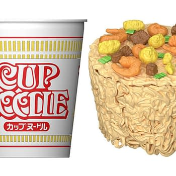 Cup Noodle...Figure Coming This Fall From Bandai Spirits