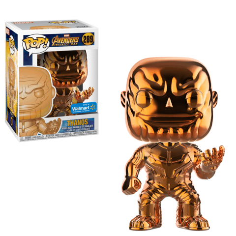 Funko Chrome Thanos orange