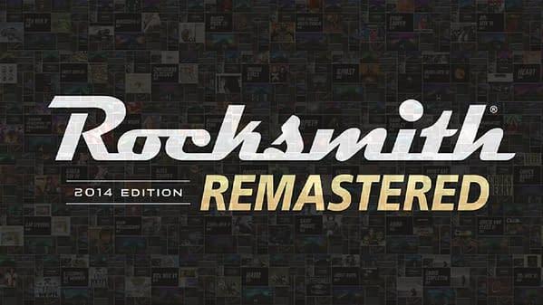 Rocksmith Remastered's Main Logo.