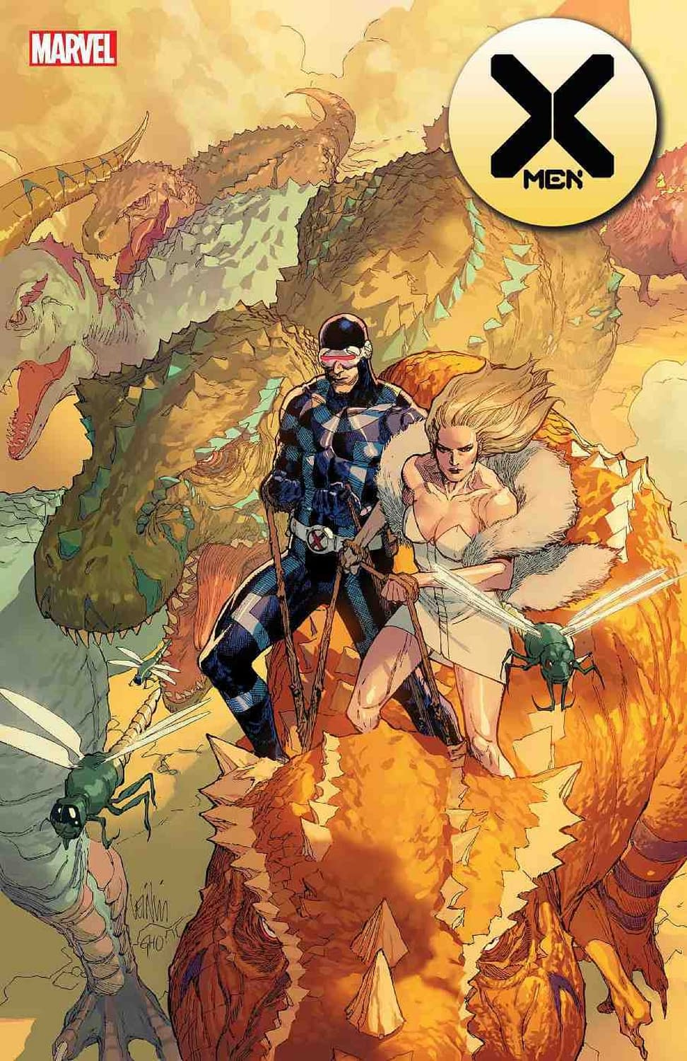 X-Men Head to Savage Land in December Solicits... Are They Going for the New KFC Glazed Donut Chicken Sandwich?