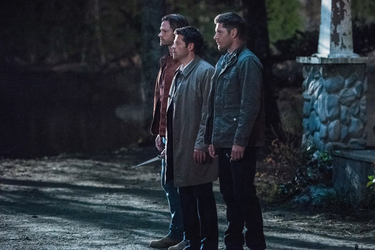 """Supernatural"" Season 15: Andrew Dabb Talks Existential Crisis, Familar Faces & ""Very Real"" Losses [PREVIEW]"
