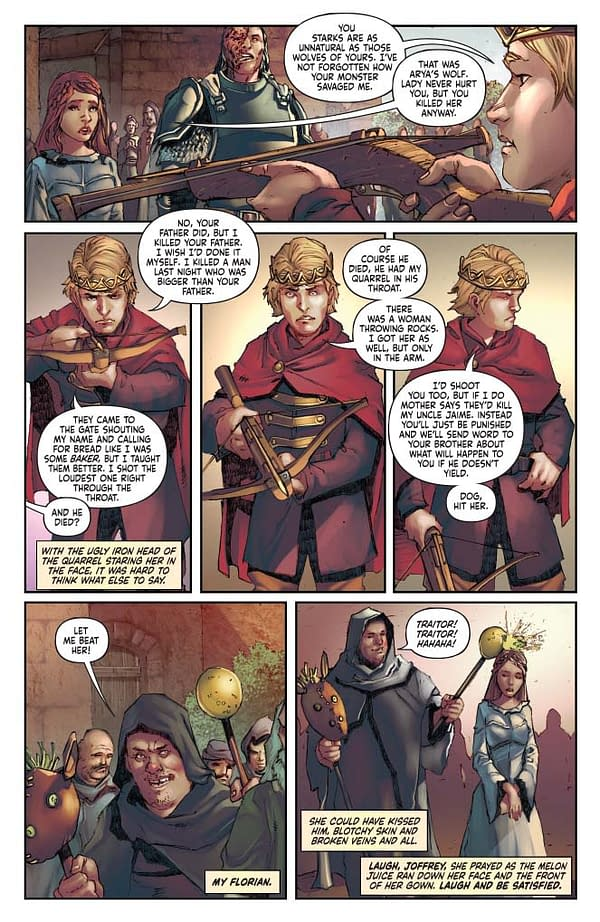 Landry Q. Walker's A Writer's Commentary for Game Of Thrones: A Clash of Kings Vol 2 #1