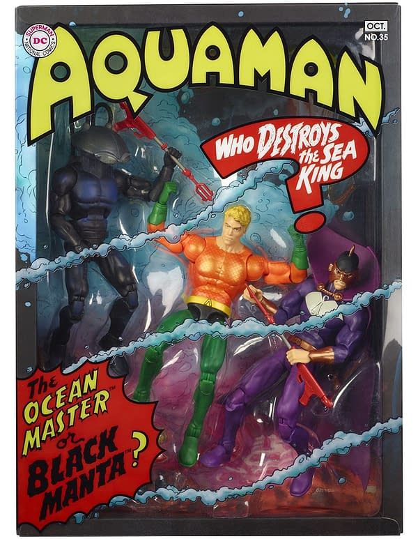 Mattel SDCC Exclusive Aquaman Set 2