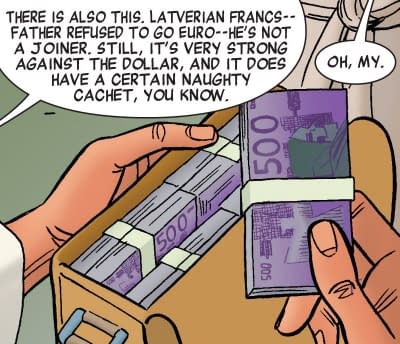 When Did Latveria Join the European Union - And When Will Doctor Doom Fight For Lexit?