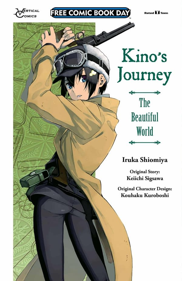 Vertical's Preview of Kino's Journey for Free Comic Book Day 2019