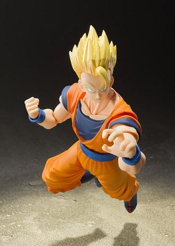 Dragon Ball Z Super Saiyan Son Gohan SH Figuarts Bandai TAMASHII collector shop