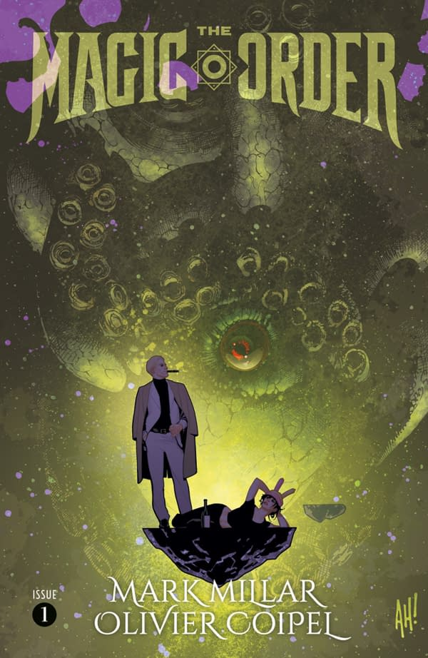 Preview: Mark Millar and Olivier Coipel's The Magic Order – Will We Get News on Star Crusher?