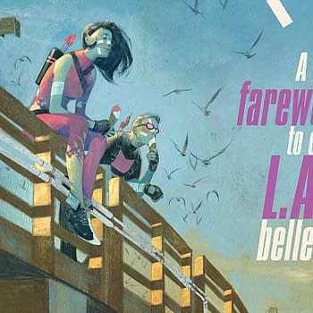 Hawkeye #16 cover by Julian Totino Tedesco