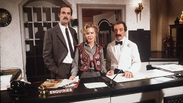 John Cleese Guilts BBC into Restoring Fawlty Towers to Streaming (Image: BBC)