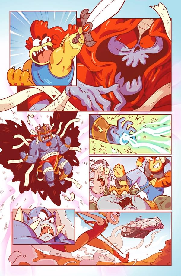 Mike Anderson Considers How a Thundercats Roar Comic Might Look