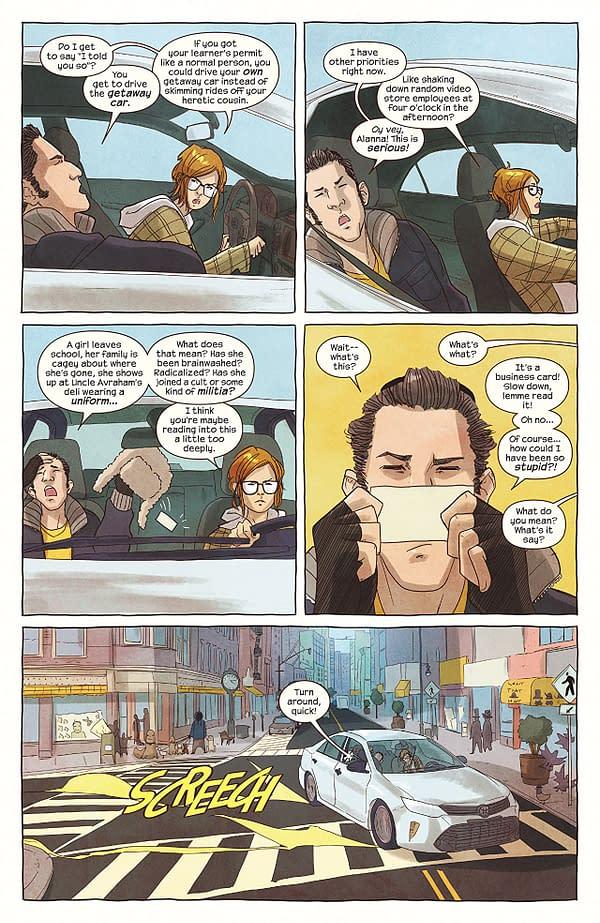 Ms. Marvel art by Nico Leon and Ian Herring