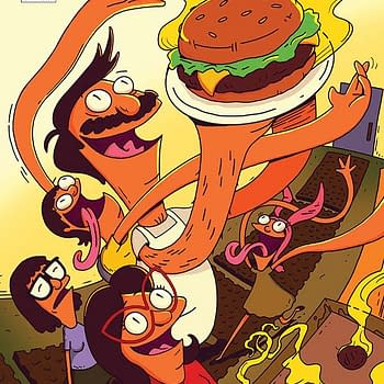 The cover to Bob's Burgers #1 from Dynamite Entertainment.