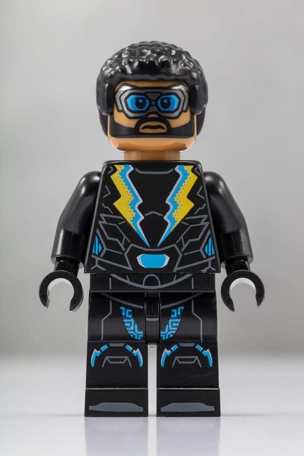 LEGO SDCC Black Lightning Minifig 1