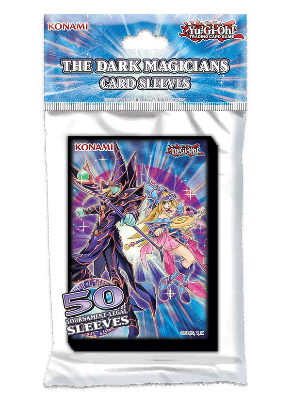 Yu-Gi-Oh! Pochettes pour cartes Dark Magician, gracieuseté de Konami.