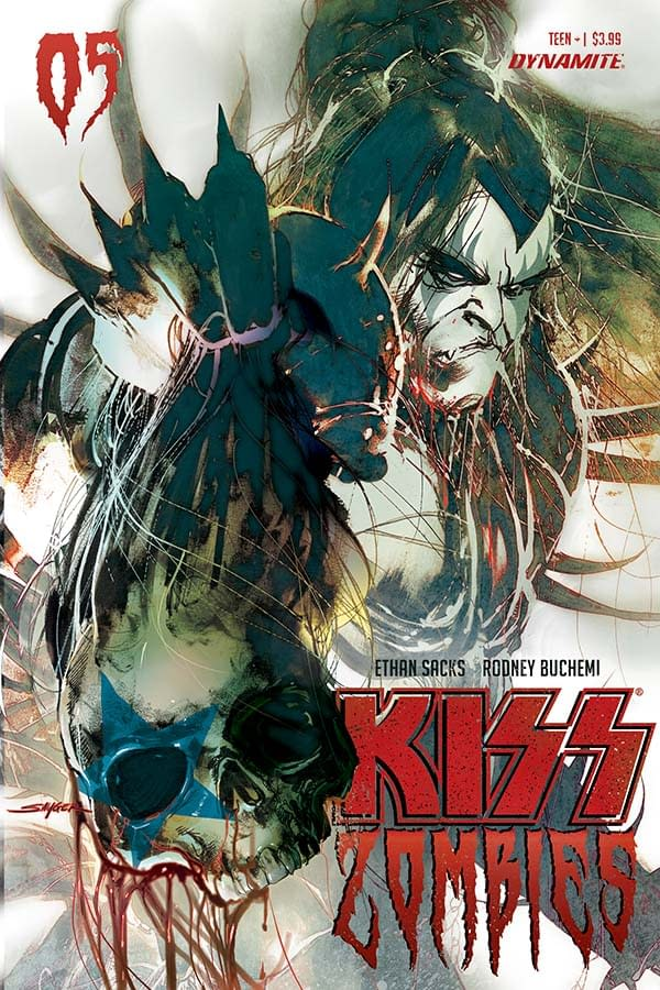 Ethan Sacks' Fire Breathing Writer's Commentary on Kiss Zombies #5