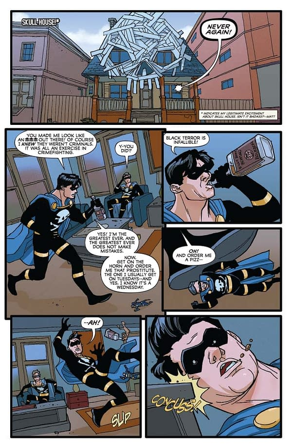 Exclusive Extended Previews for Agent 47: Birth of the Hitman #3 and Bettie Page #7