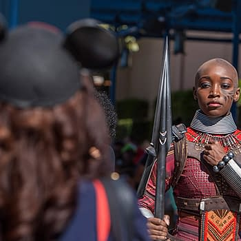 Guests Can Now Meet Black Panther and the Dora Milaje at Disneyland Resort
