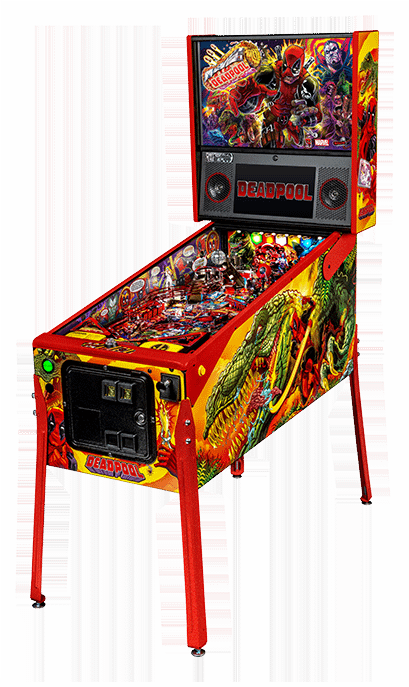 Deadpool is Coming to a Pinball Machine Near You