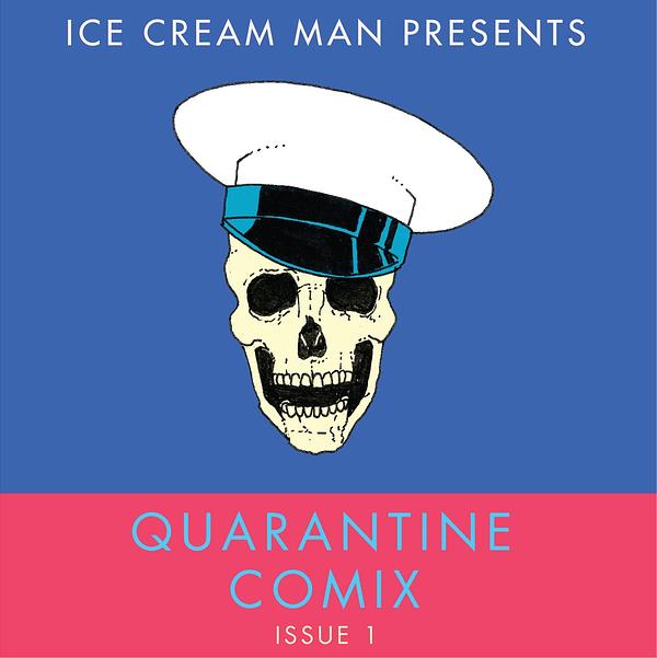 Pinky Ring revient à la mini-bande dessinée numérique Ice Cream Man.