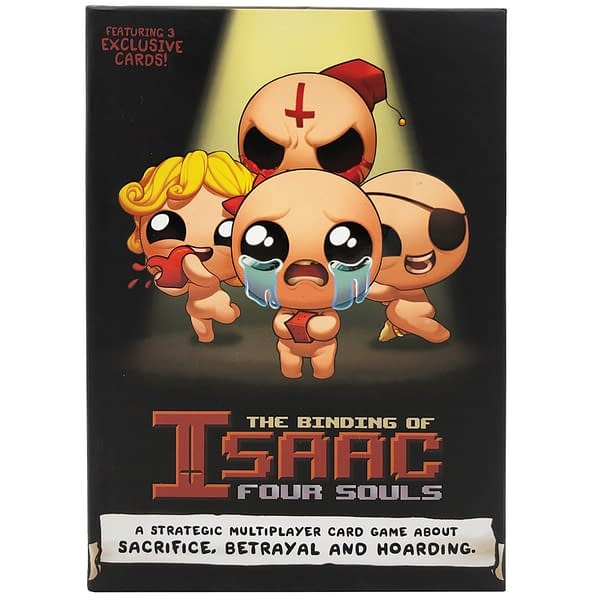 """The Binding Of Isaac: Four Souls"" Now Being Sold At Target"