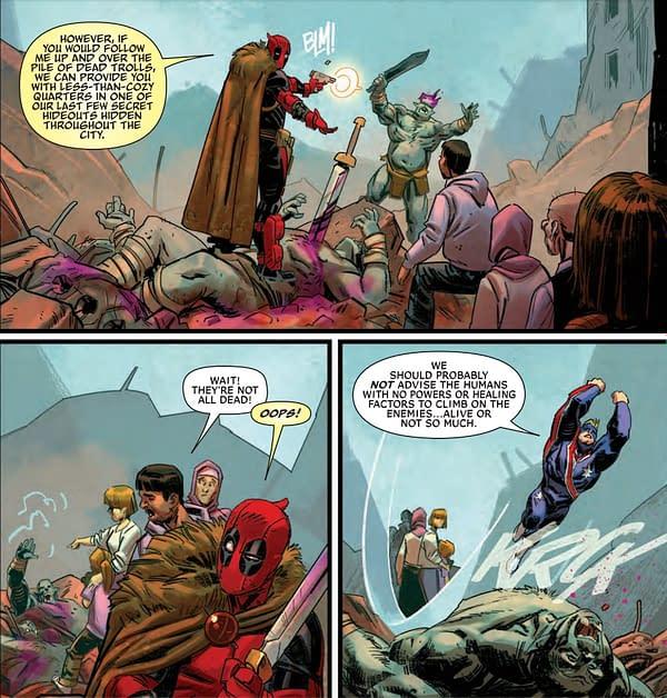 Deadpool Applies for Australian Citizenship in Deadpool #14 (Preview)