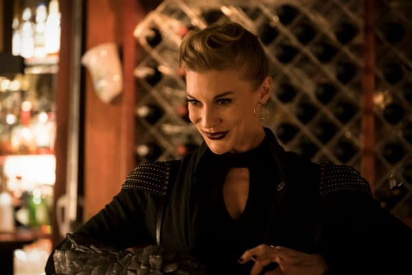 Katee Sackhoff as Amunet Black on The Flash, courtesy of The CW.