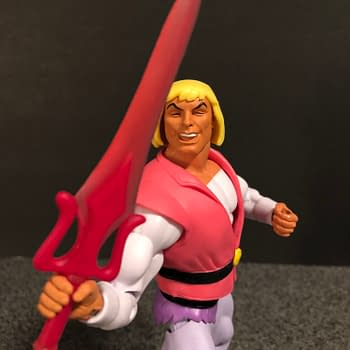 Super7 Masters of the Universe Laughing Prince Adam 8