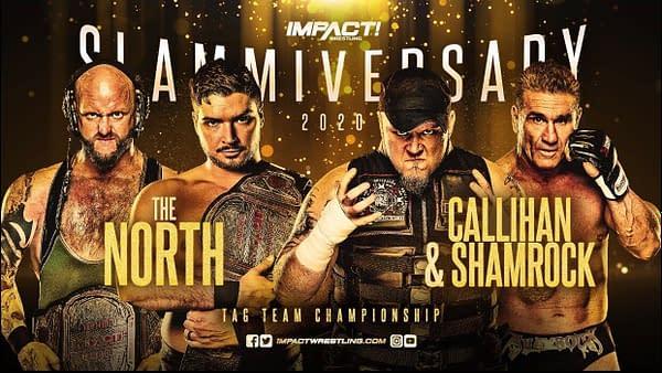 Ken Shamrock and Sami Callahan will team up against The North at Slammiversary