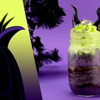 Disney Maleficent cake jar