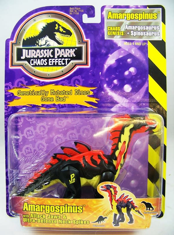 Toy Takeover: Jurassic Park Chaos Effect by Kenner