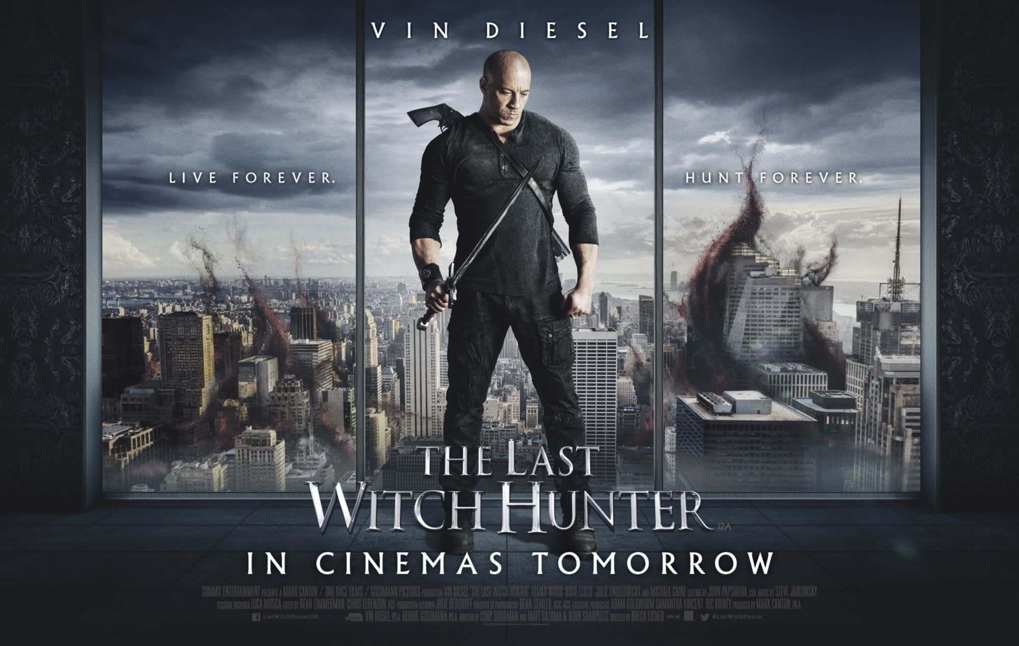 """Vin Diesel Confirms a Sequel to """"The Last Witch Hunter"""""""