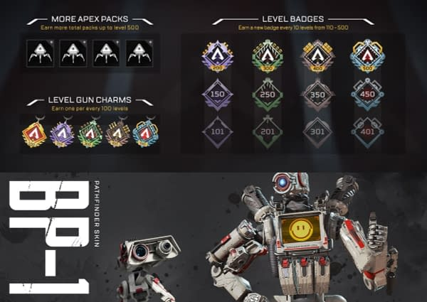 """The """"Apex Legends"""" Player Progression System Gets Some Changes"""