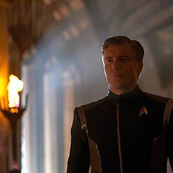 Star Trek: Discovery &#8211 Anson Mount Talks Pikes Fate Make-Up Being Better Than Digging Ditches [VIDEO]